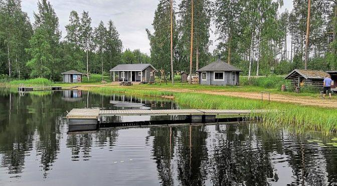 Alasen uimaranta, sauna ja kota