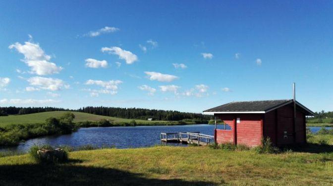Hangasrimmin kalastus- ja uimapaikka