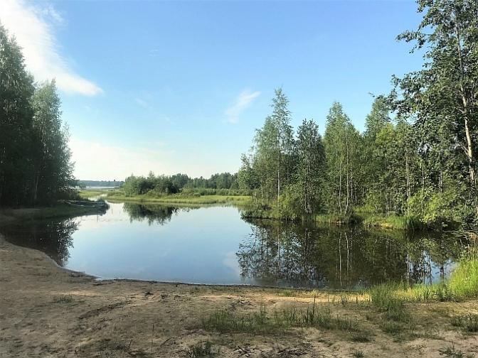 Iso Allasjärven uimaranta