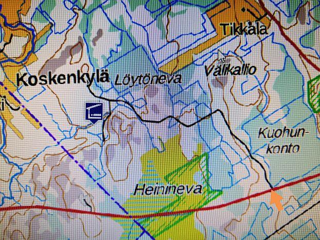 Kartta pieni